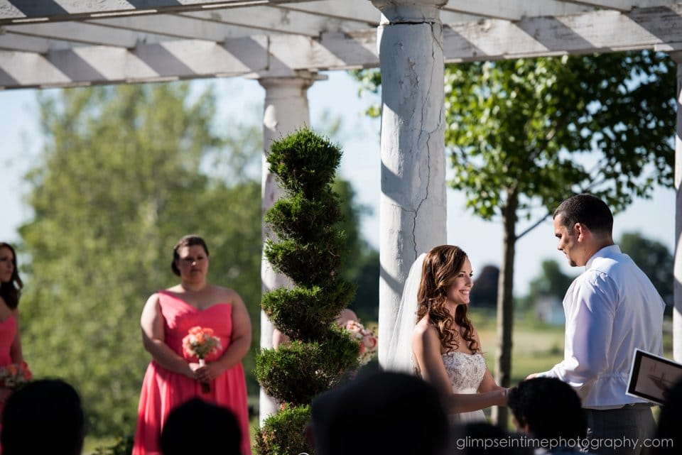 white chimneys garden ceremony