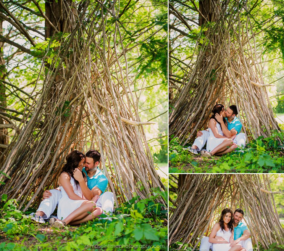 whimsical engagement photos